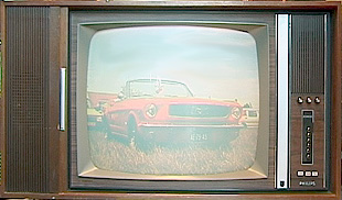 A color television of the '70s